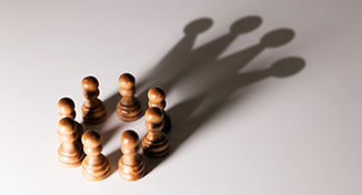 Immagine di Image of chess pawns