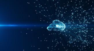 Immagine di digital cloud